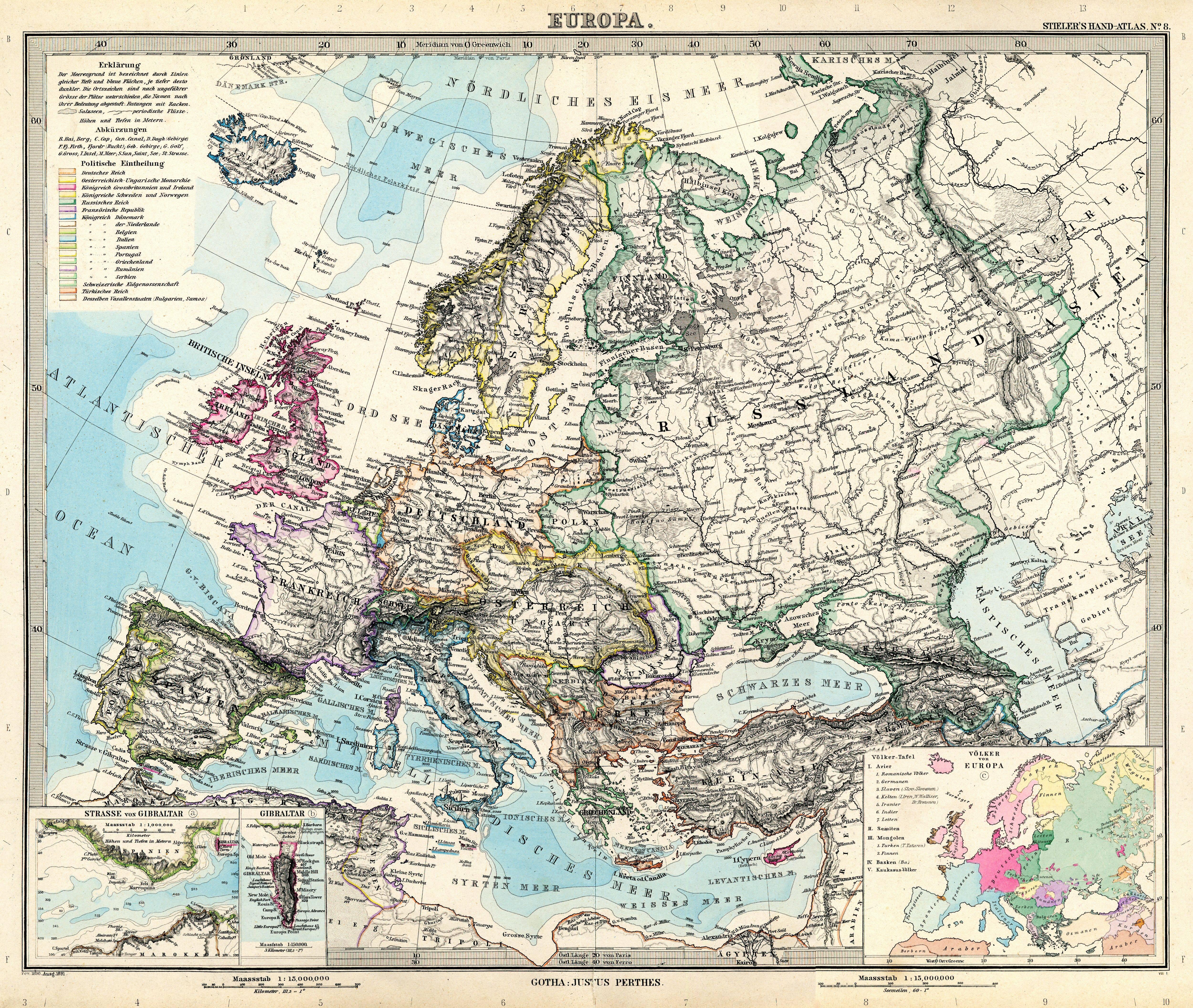 europe cities with Stielers Handatlas Europa 1891 on Lubraniec also Brzeziny further Wysokie mazowieckie further Azerbaijan 1400 likewise Ruska Federace Images.